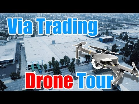 Drone Footage: Fly with us through Via Trading