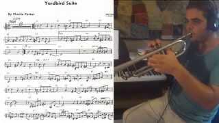 Yardbird Suite - solo trumpet from C. Parker (Omnibook)