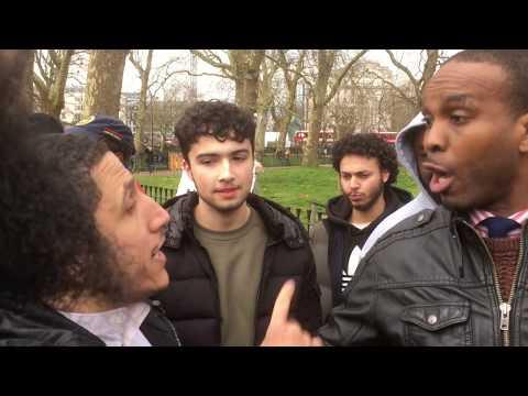 **Intresting points** Lying Prophets!? Shamsi Vs Godwin   Speakers Corner   Hyde Park