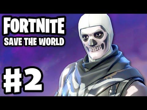 Fortnite: Save The World - Gameplay Walkthrough Part 2 - Ride The Lightning! (PC)
