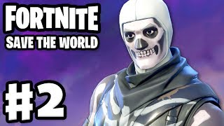 Fortnite: Save the World - Gameplay Walkthrough Part 2 - Ride the Lightning! (PC)