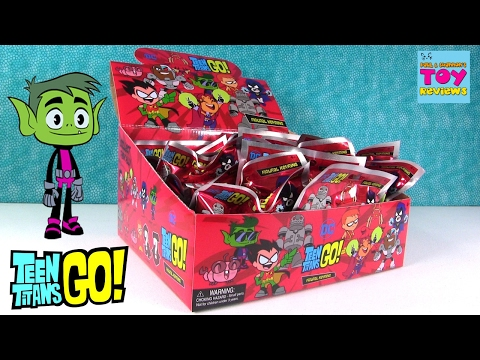 Teen Titans Go Figural Keyring Blind Bags Series 1 Opening | PSToyReviews