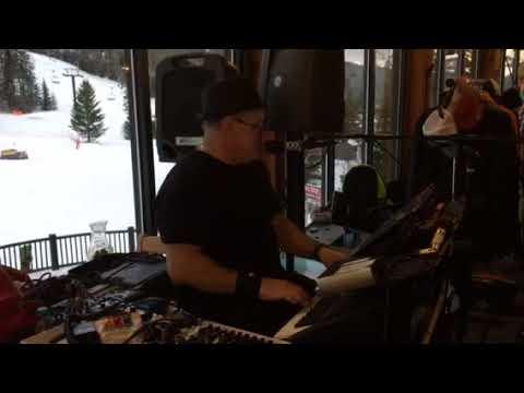 "Randy Hawkes at Bretton Woods NH sings ""Brown Eyed Girl Buffett style"