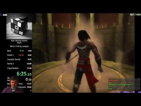 Разбор мирового рекорда Prince Of Persia Warrior Within Any%