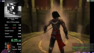 Разбор мирового рекорда Prince of Persia Warrior Within Any%