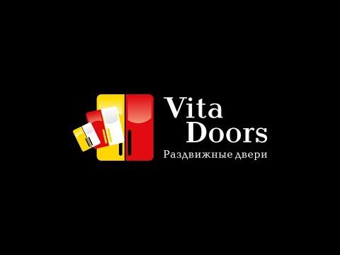 Монтаж обрамления, пенал кассета Vitadoors.