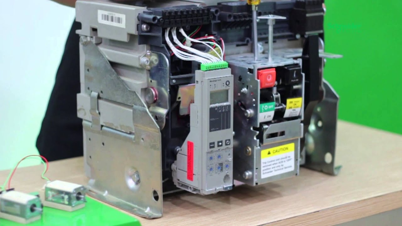 EasyPact MVS  ACB (Air Circuit Breaker) dari Schneider Electric  YouTube