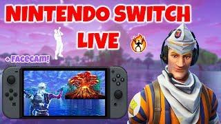 Fortnite Nintendo Switch LIVESTREAM! (VOLCANO EVENT RIGHT NOW?)
