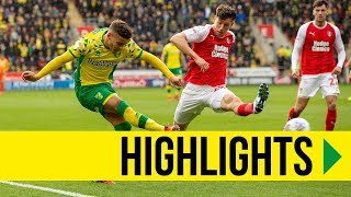 HIGHLIGHTS: Rotherham United 1-2 Norwich City