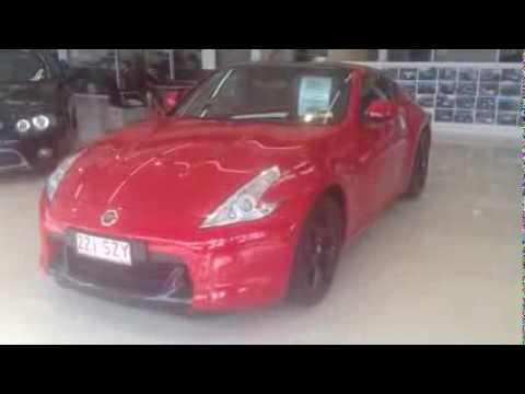 2012 nissan 370z red manual coupe video tour youtube. Black Bedroom Furniture Sets. Home Design Ideas
