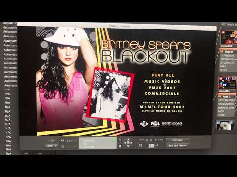 [Preview] Britney Spears - Blackout DVD Menu