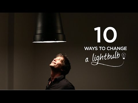 Ten Easy Ways to Transform a Light Bulb Into a Beautiful Lamp