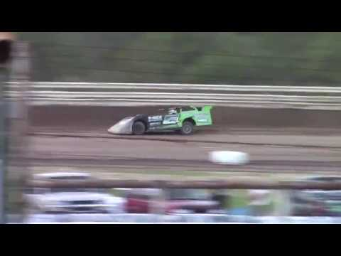 Hummingbird Speedway (9-1-18): Swanson Heavy Duty Truck Repair Semi-Late Model Heat Race #2