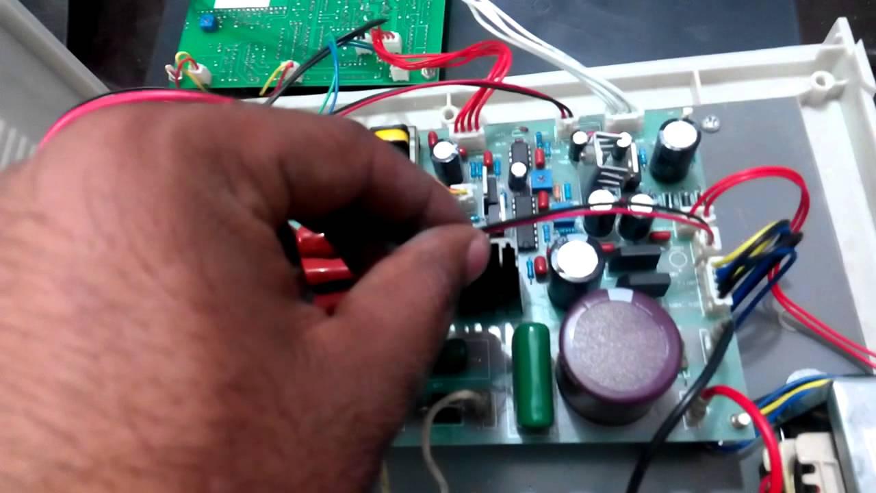 Sealing Machine Circuit Youtube Relay Seal In