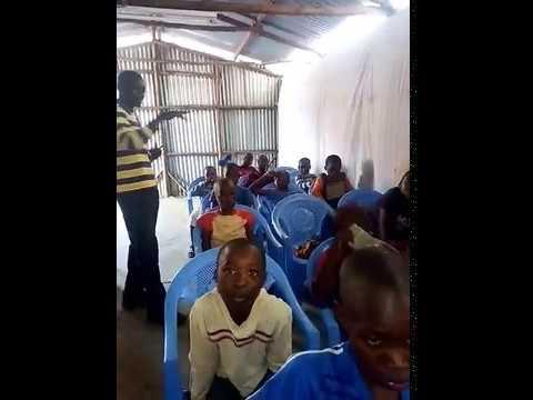 Kikera Slum Children in Church for Jesus