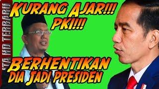 Alfian Tanjung: Jokowi PKI Kurang Ajar! Berhentikan dia Jadi Presiden! & Jokowi Menjawab Cerdas!