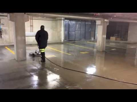 Parking Garage Cleaning Chicago Pressure Washing
