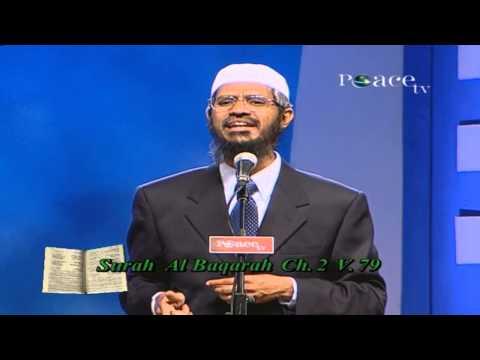 Phrophet Mohammed (pbuh-ﷺ) in the Various World Religious Scriptures(Dr.Zakir Naik  - Full Lecture)