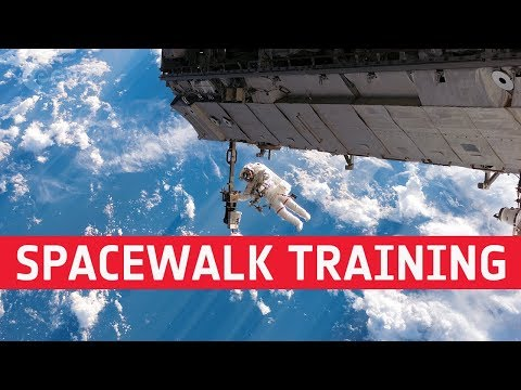 Fit for space  spacewalk training
