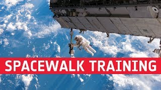 Fit for space – spacewalk training