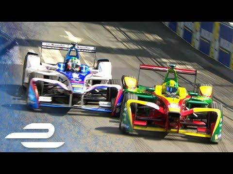 Best Race Battles - 2017 Qatar Airways Paris ePrix - Formula E