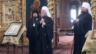 Слово митрополита Астанайского Александра. Ответное слово митрополита Ферапонта