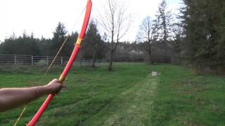 PVC Bow Gallery - 40 Pound Red Furniture Grade 3/4 Pipe Gull Wing Bow - March 2015