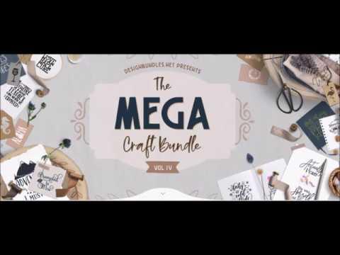 Review of the Mega Craft Bundle 4 from Designbundles