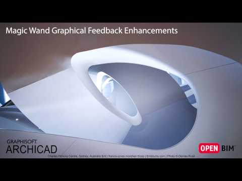 ARCHICAD 21 - Magic Wand Graphical Feedback Enhancements
