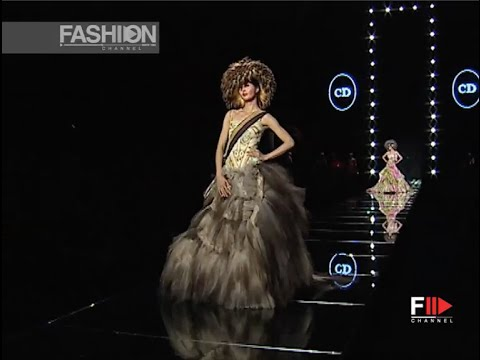 CHRISTIAN DIOR Full Show Spring Summer 2002 Haute Couture Paris by Fashion Channel