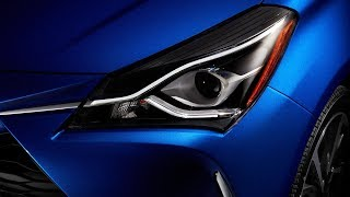 2019 Toyota Yaris Hybrid Interior and Exterior Features