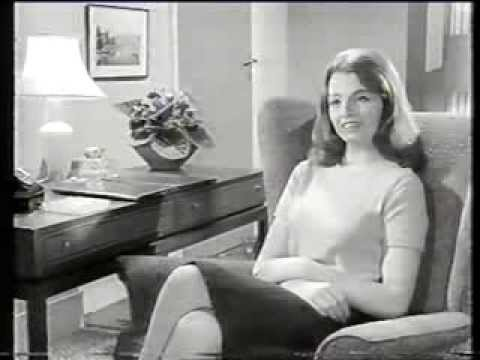 Christine Keeler 1960s screen test