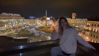 Clowning with Catherine on Saturday Night in St Petersburg, Russia. IRL Live