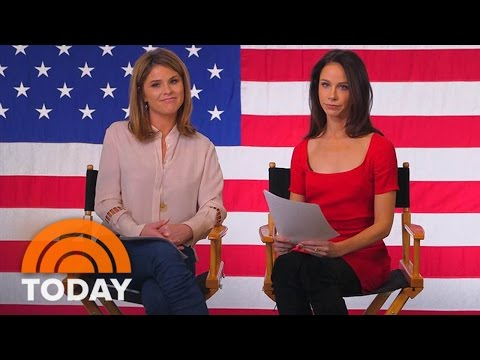 Jenna Bush Hager and Barbara Bush Share Words of Wisdom For Sasha and Malia Obama | TODAY