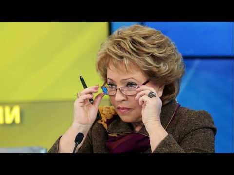 Матвиенко предложила наказать Новака за задержку закона о счетчиках