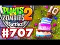 #CakeTank! Battlez! - Plants vs. Zombies 2 - Gameplay Walkthrough Part 707