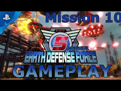 EARTH DEFENSE FORCE 5 - Mission 10. Escape thumbnail