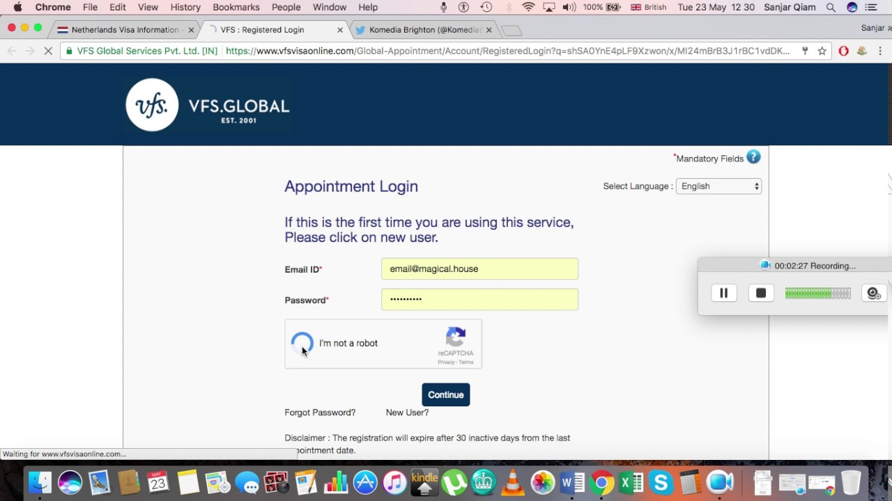 how long to book Schengen visa appointment in the UK London VFS