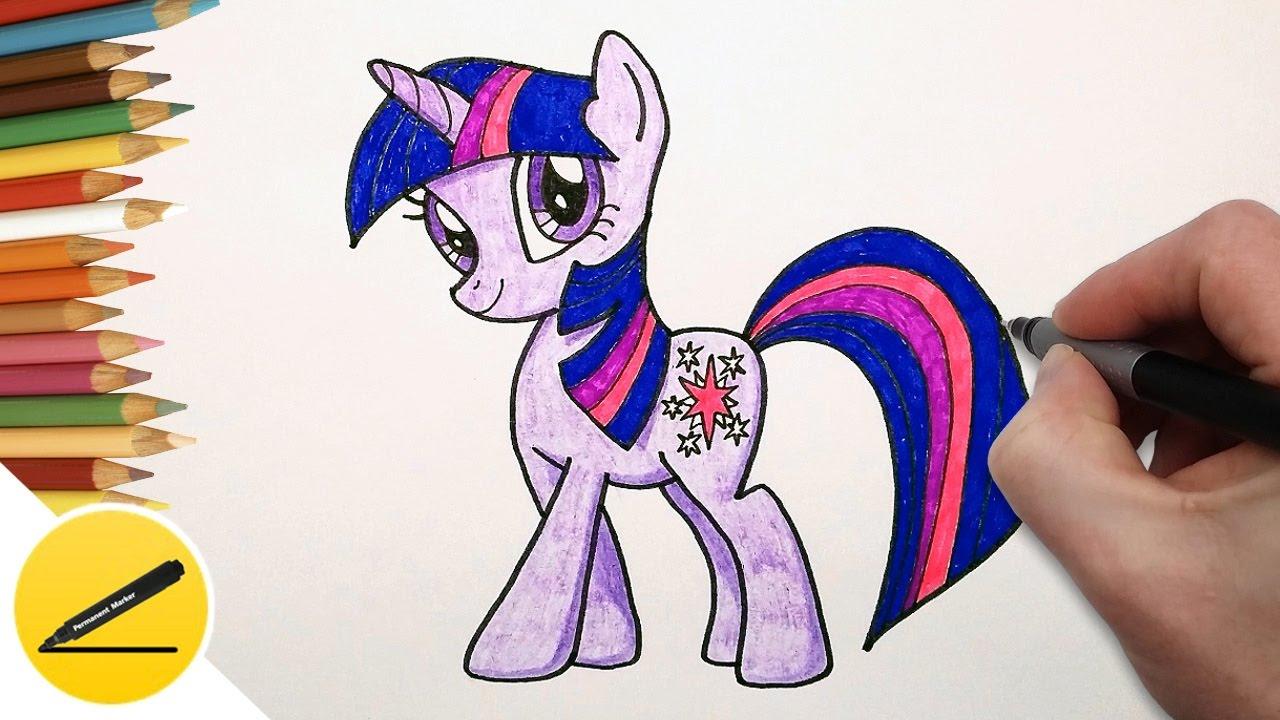 Как нарисовать пони своими руками фото 242