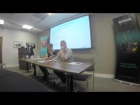 Phil McBryde, Hot Tips For Marine Consents, Breakfast Workshop
