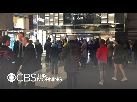 Time Warner Center in New York evacuated for 2nd time in false alarm