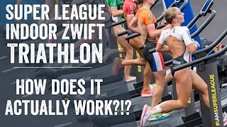 Super League Triathlon on Zwift: Tech Behind the Scenes!