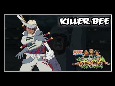 Naruto Shippuden: Ninja Storm Revolution - Jinchuuriki DLC Pack - Killer Bee // Moveset