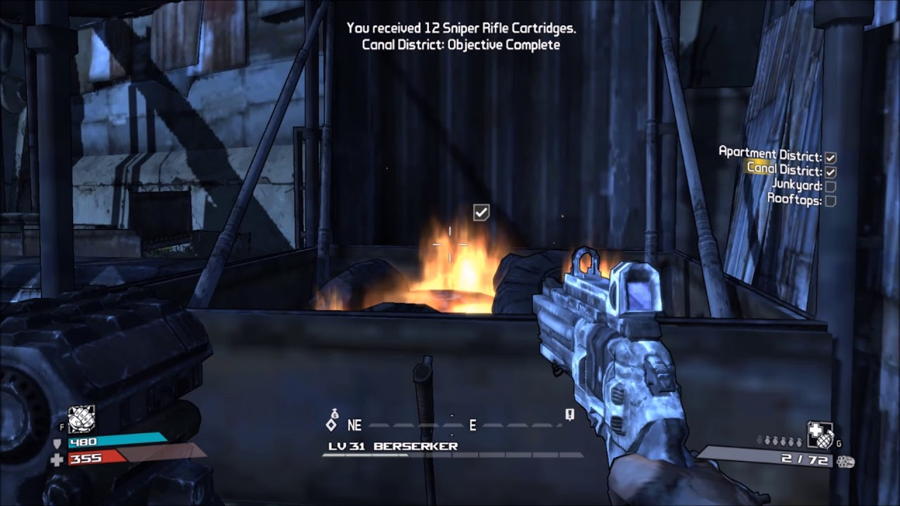 Borderlands Side Quest Old Haven Investigate Smoke Signals