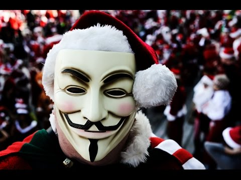 Thumbnail: Anonymous - Christmas Warning YOU are being Distracted!