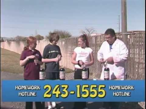 Homework hotline phone number