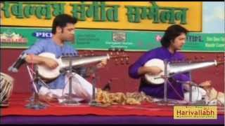 Ustad Amaan Ali & Ayaan Ali Bangash -Sarod -Part 2- The 136th Harivallabh 2011