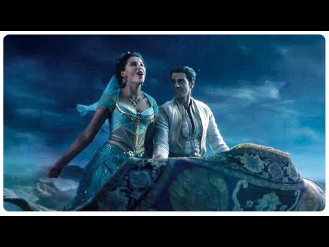 Jasmine Sings A Whole New World Song Scene - ALADDIN (2019) Movie CLIP HD
