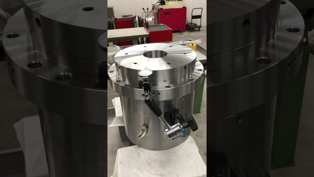 液靜壓轉台 Hydrostatic Bearing Rotary Table