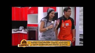 Chiclayo Construye   24 08 13   Diseño Y Decoración  Promart Cocinas